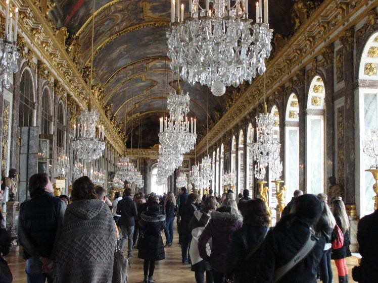 overtourism in Versailles France