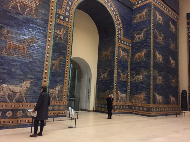 Ishtar Gate reconstruction at the Pergamon Museum in Berlin