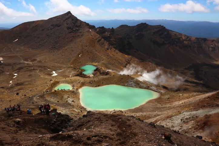 Emerald Lakes, Tongariro Alpine Crossing, New Zealand