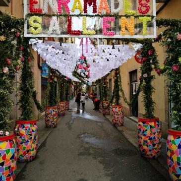 Fiesta de Gracia Barcelona - flower themed street