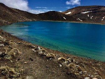 Blue Lake, Tongariro crossing