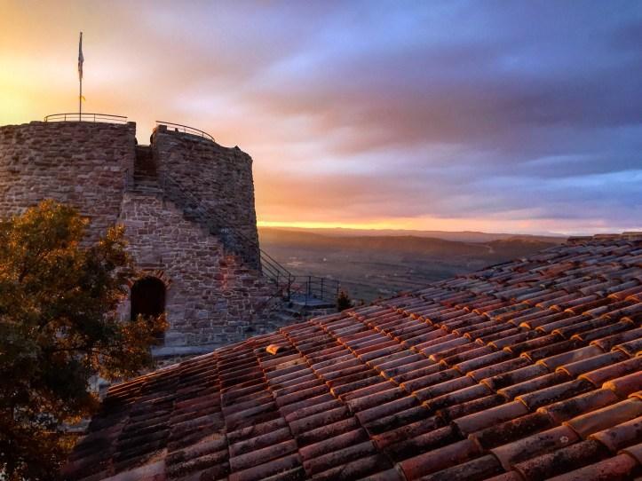 Parador de Cardona room with a view