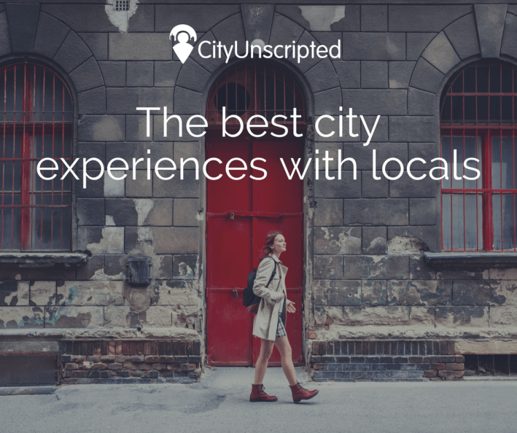 CityUnscripted - best city experiences with locals