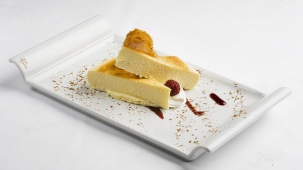 parador de plasencia restaurant especia dessert cheesecake
