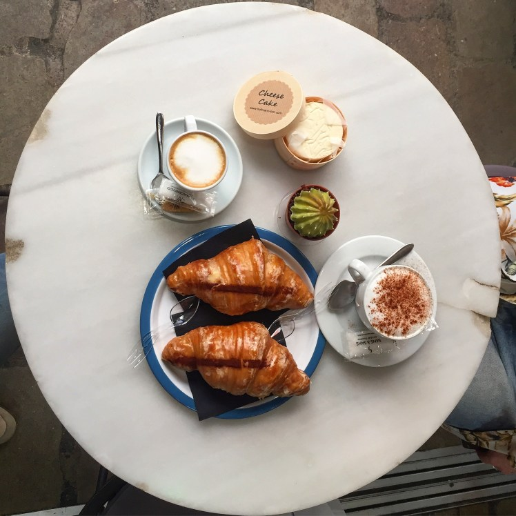 Hoffman pastisseria croissants in Barcelona El Born quarter