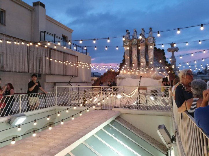 Casa Batllo Magic Nights, Augmented reality visit and rooftop concert