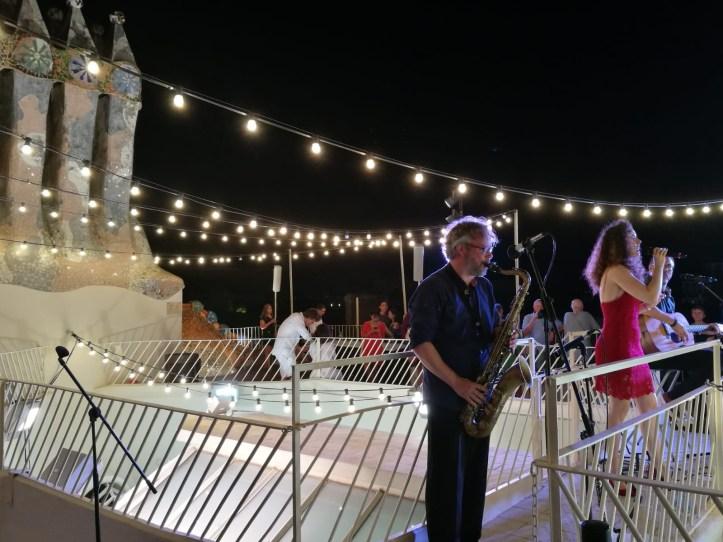 Casa Batllo Magic Nights rooftop concert