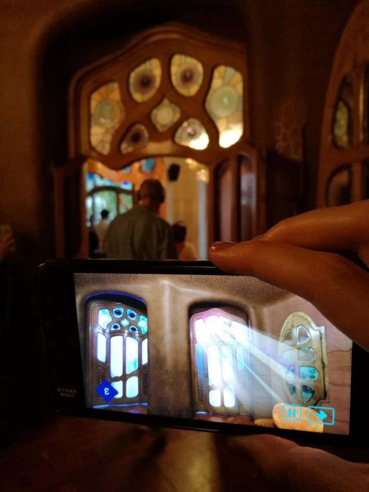 Casa Batllo Magic Nights, Augmented reality visit