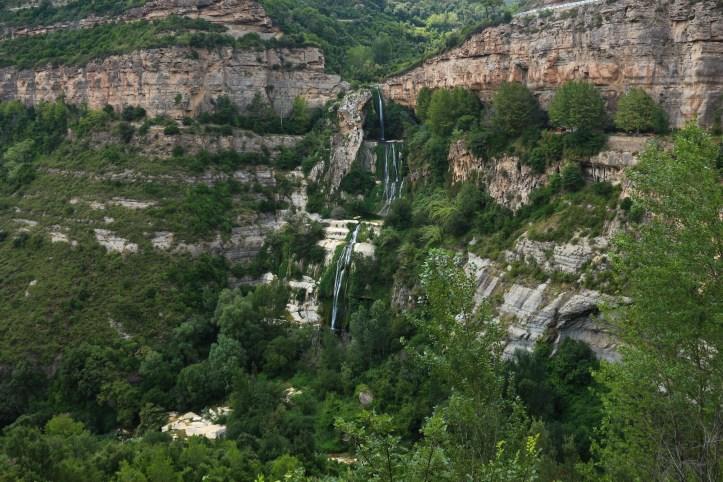Sant Miquel del Fai waterfall, 50km from Barcelona