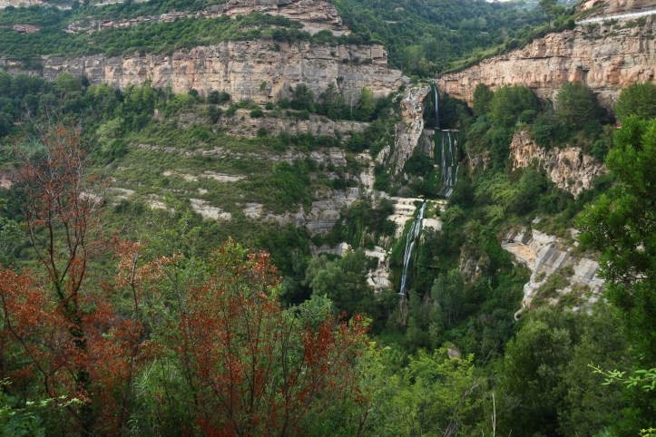 Sant Miquel del Fai waterfall