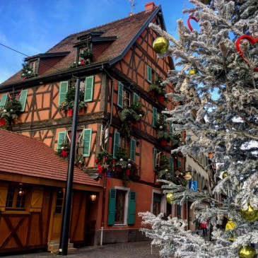 Alsace in winter, christmas markets