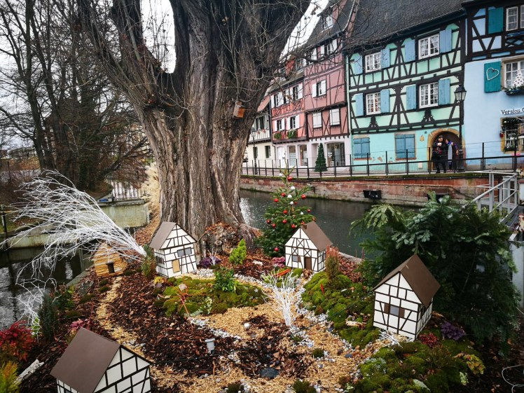 Colmar, also known as Little Venice, decorations for Christmas