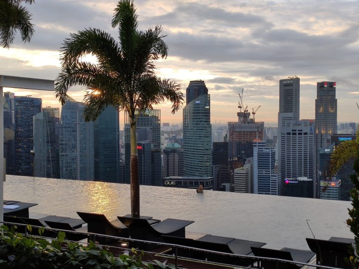 Two Days in Singapore: Spago Skybar