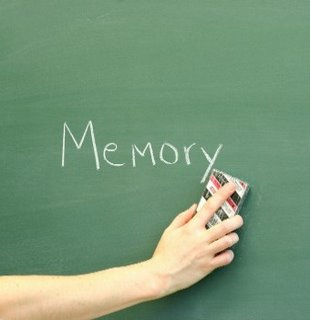 memory being erased