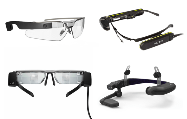 Skylight supported smart glasses