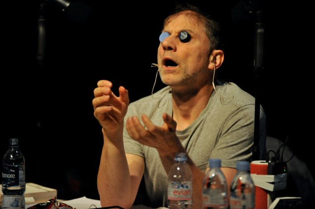 Simon McBurney in The Encounter at HOME, Manchester © Robbie Jack