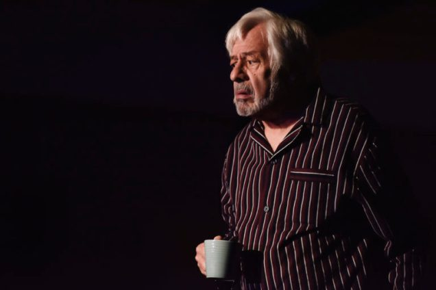 Kenneth Alan Taylor in The Father at Oldham Coliseum © Joel C Fildes