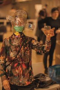 Learn how to make a gas mask at Party Skills for the End of the World © Donald Christie