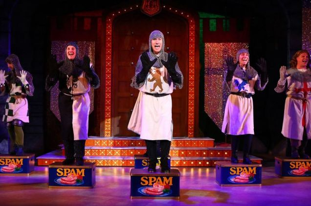 Spamalot at The Palace Theatre, Manchester until 11th November 2017