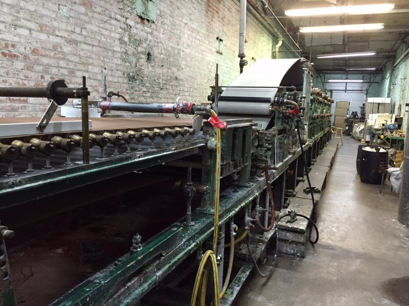 Visit to the St Armand Paper Mill