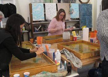 Suminagashi Marbling Workshop (10-1pm)