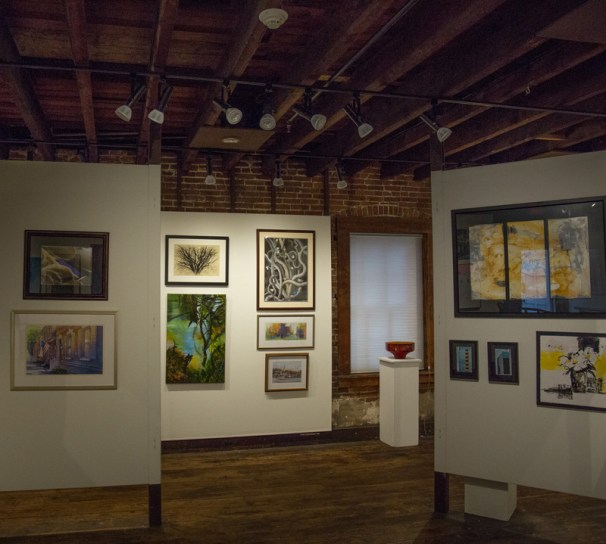 Circle Gallery 1 - Collector's Choice, showcasing artwork donated by MFA members for MFA's annual art lottery fundraiser, shot by Wil Scott_14