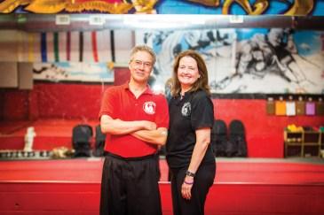 Billy + Nancy Greer.