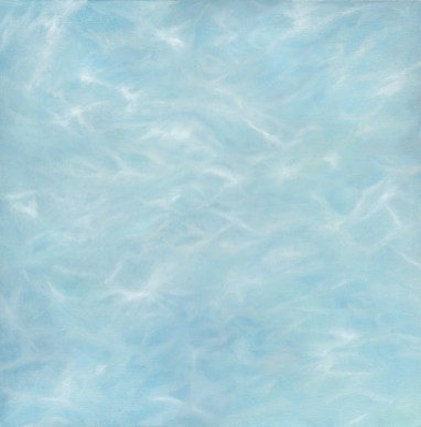 """""""Submerge"""" - 25""""x25"""" oil on canvas"""