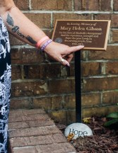 """""""Mary Helen was one of those people who told me I was going to die if I didn't stop. I walked into my first meeting and she started crying."""" She had prayed that Angel would get into recovery. """"I stuck around, I stayed clean and she became not only a mentor, but a friend. When she passed away it was such a big loss,"""" Angel says."""