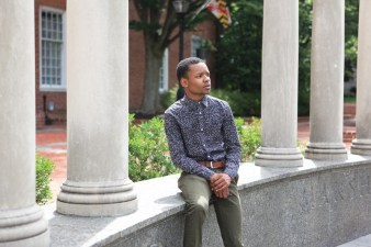 Lawyer's Mall, a prime gathering location for leaders like DaJuan Gay where voices are heard and stories are shared regarding pressing issues in the greater Annapolis community. Photo by Sophie Macaluso