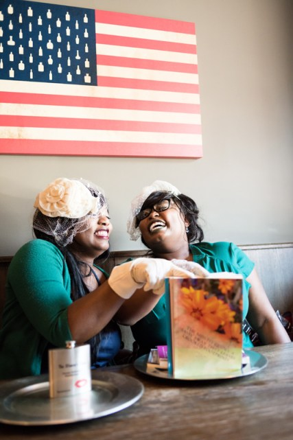 Willnona and Jade having a laugh while discussing their friendship journey.