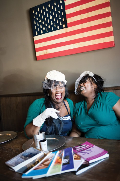 Contagious laughter as Willnona and Jade recount various events that have occured throughout their friendship.