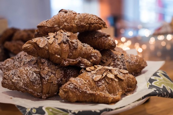 Almond Croissants at Bakers and Co. in Eastport. Photo by Alison Harbaugh