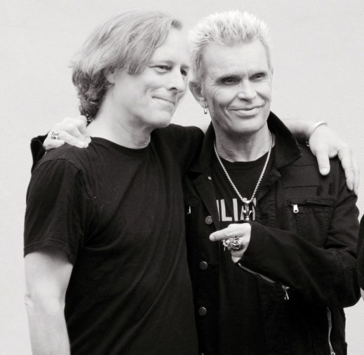 Bob Waugh and Billy Idol