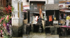 Bangkok River (Thailand) - archival inkjet print on cotton rag paper (photomontage) Image courtesy of Celia Pearson