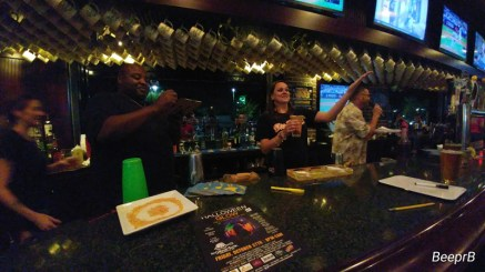 Bar Wars held at the Greene Turtle where bartenders competed and raised money for their favorite charity. Courtesy photo from Bridgett Rheam