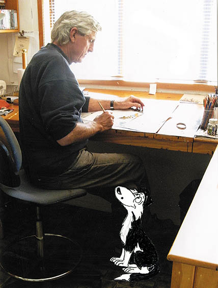 Author and Illustrator Murray Ball