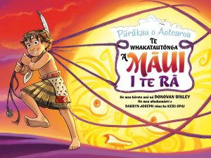 Cover image for Maori version