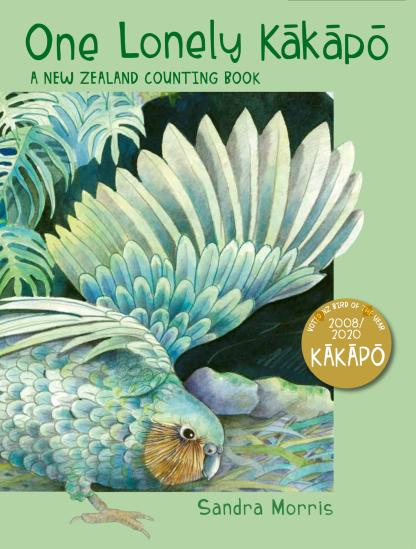 Cover art featuring a beautiful Kakapo