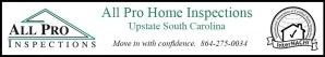 AllPro Upstate Sc Home Inspection Company for Greenville SC, Greer SC, Simpsonville Sc & Easley SC