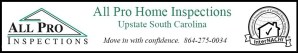 AllPro Upstate Home Inspection Service for Greenville, Simpsonville, Greer & Easley SC.