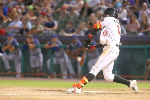 ValleyCats outfielder Carlos Machado is the first ValleyCat to win New York- Penn League player of the week this season. Photo: Robert Dungan/The Upstate Courier