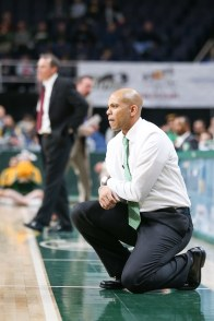 Siena coach Jamion Christian during a game against Lehigh on Nov. 21, 2018 at Times Union Center. Photo: Robert Dungan/The Upstate Courier