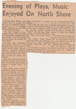 Duhamel Recreation Commission article Nelson Daily News 1960's -P. Ormond files