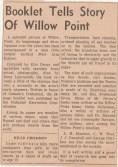 Duhamel Recreation Commission article - West Arm Echoes Nelson Daily News 1967 -P. Ormond files