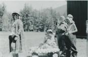 Duhamel fun days parade  A.I. Collinson school grounds 1960's -Patsy Ormond files