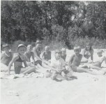 Duhamel Recreation Commission swimming lessons, Six Mile point, 1960s - Patsy Ormond Files
