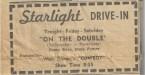 Starlight Drive-In Ad  NDN July 26 1962