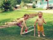 Summer 1973: Water Sports. photo credit - Frances Welwood