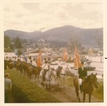 Duhamel Riding Club parade in Nelson. 1970s. Shelley Richards collection